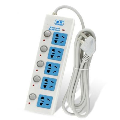 【马上涨价】线长2.5米拳霸五开关插线板接线板插排插座电插板