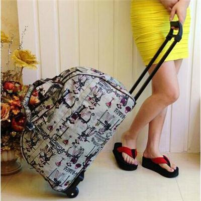 拉杆包 女男旅行包拉杆箱轻小防水行李箱拖箱 牛津布帆布旅行箱包