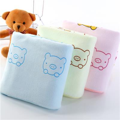 天天特价包宝宝浴巾吸水加大厚新生婴儿毛巾方抱被比纯棉纱布柔软
