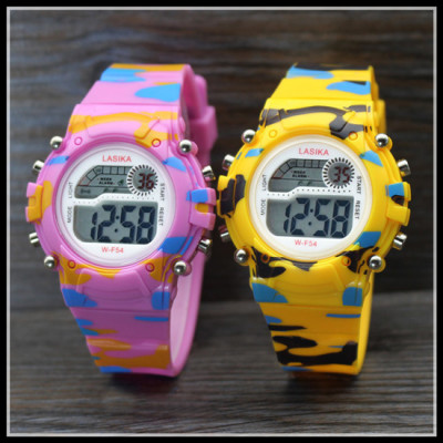 手表儿童男孩女孩学生表防水夜光多功能户外运动电子表六一礼物