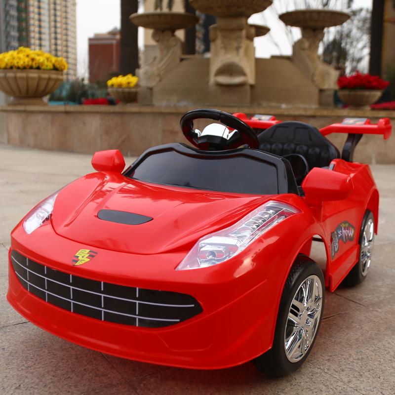 婴儿童电动车可坐人遥控汽车充电四轮1-3岁4-5小孩男女宝宝玩具车