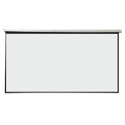 白塑玻纤灰玻纤手拉投影仪幕布60寸150寸4:3/16:9家用办公幕布